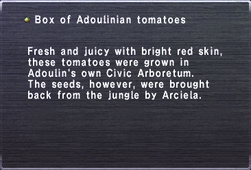 Box of Adoulinian tomatoes