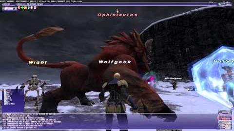 FFXI RoV The Lion's Roar - fight