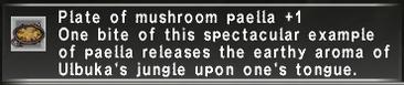 Mushroom Paella +1