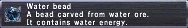 Waterbead
