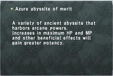 Azure Abyssite of Merit