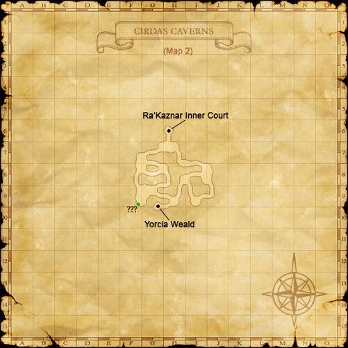 Cirdas caverns map 2