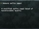 Impure zaffre yggzi