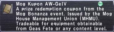 Kupon AW-GeIV