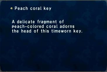 Peach Coral Key