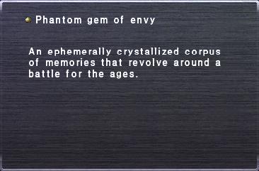 Phantom gem of envy