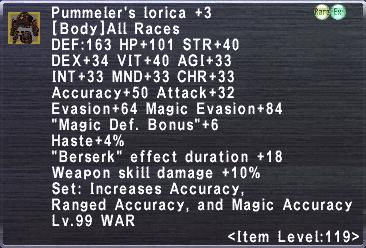 Pummeler's Lorica Plus 3