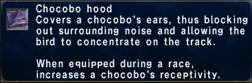 Chocobo Hood
