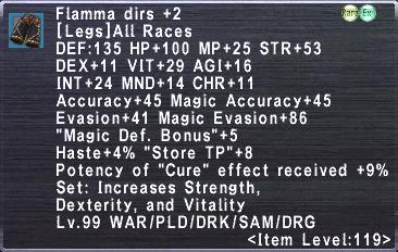 Flamma Dirs +2