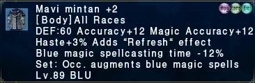 Mavi Mintan +2