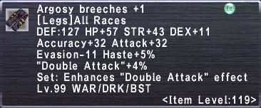 Argosy Breeches +1