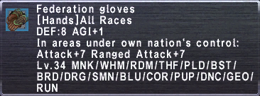 FederationGloves
