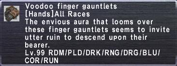 Voodoo Finger Gauntlets