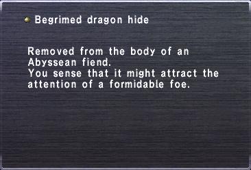 Begrimed Dragon Hide