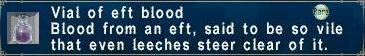 Eft blood
