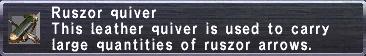 Ruszor Quiver