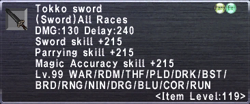 Tokko Sword