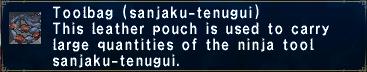 Toolbag sanjaku-tenugui