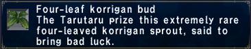 4Leaf Korrigan Bud