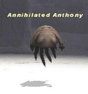 Annihilated Anthony