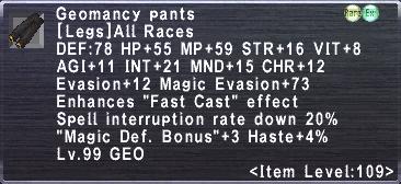 Geomancy Pants