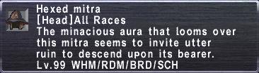 Hexed Mitra