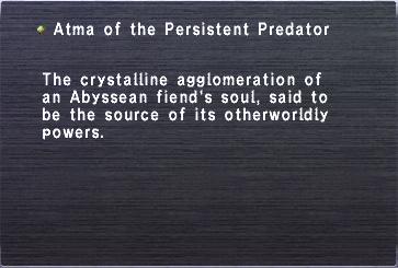 Atma Persistent Predator