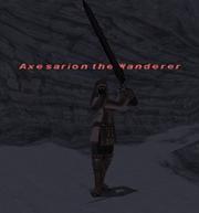 Axesarion the Wanderer