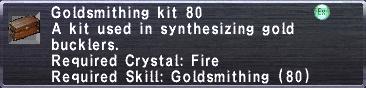 Goldsmithing Kit 80