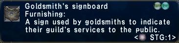 GoldsmithsSignboard