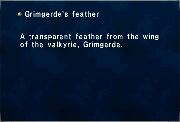 Grimgerde's Feather