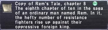 Rem's Tale, chapter 8