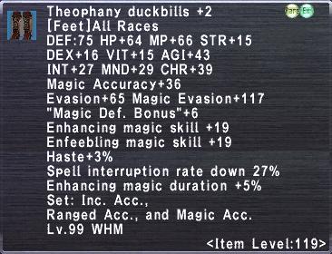 Theophany Duckbills Plus 2