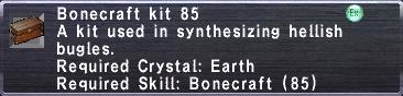 Bonecraft Kit 85