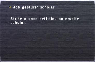 Job Gesture Scholar