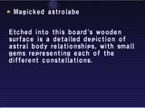 Magicked astrolabe