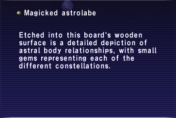 Magicked astrolabe