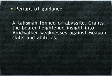 Periapt of Guidance