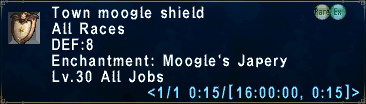 Town moogle shield
