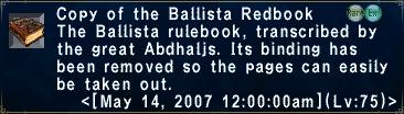 BallistaRedbook