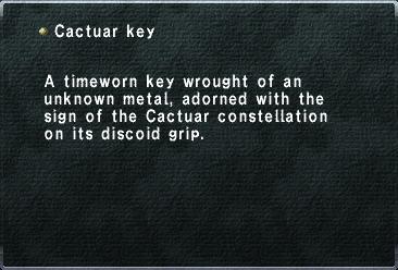 Cactuar Key