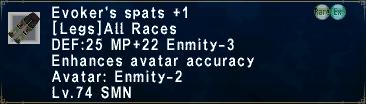 EvokersSpatsPlus1