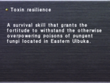 Toxin resilience