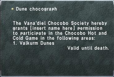 DuneChocograph