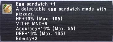 Egg Sandwich +1