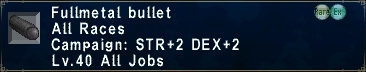 Fullmetal Bullet