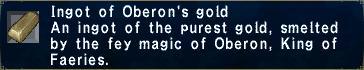 Oberon's Gold Ingot