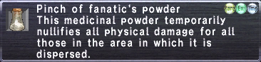 Fanatic's Powder