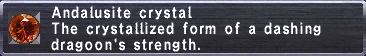Andalusite Crystal