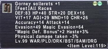Gorney Sollerets +1